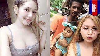 Pretty girl, ?ugly? guy couple in Cambodia goes viral - TomoNews