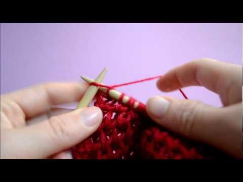 comment tricoter le point d'alveole
