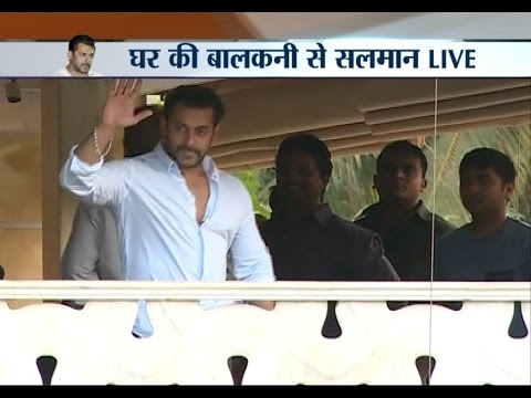 2002 Hit-and-Run Case: Salman Khan Returning Home After Furnishing Bail Bond - India TV