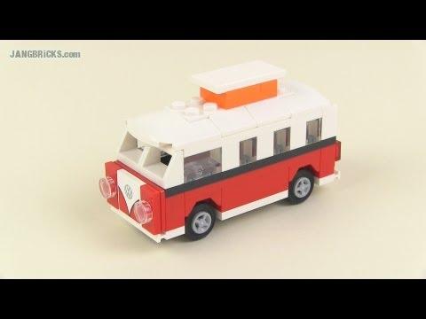 LEGO Creator set 40079 Mini VW T1 Camper Van polybag review!