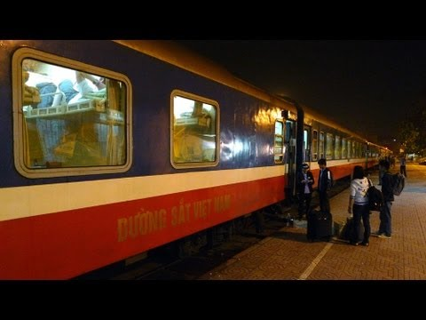 Hanoi to Saigon by train, in 9 minutes...