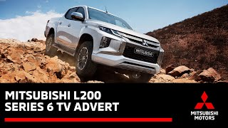 The all new 2019 Mitsubishi L200 Series 6 - UK TV Advert