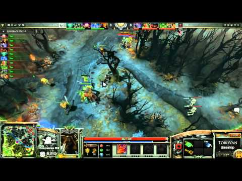 DK vs CIS Game 3- SinaCup China Dota 2 WB Quarter Final - TobiWan & BassKip