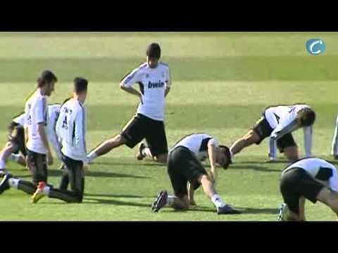 Deportes: Fúlbol/ El Madrid se ejercita sin Pepe, Coentrao ni Khedira