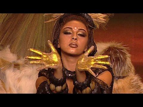 Fawazeer Myriam  African dance / ميريام فارس رقص أفريقي thumbnail
