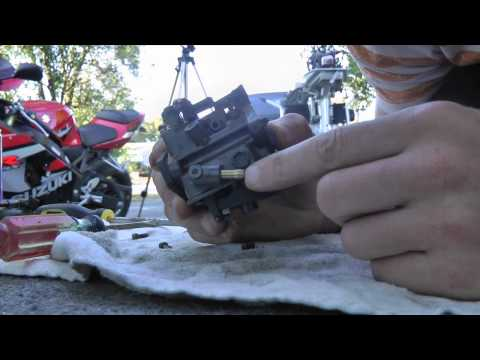 DIY How to clean a carburetor on a Honda 5hp outboard motor