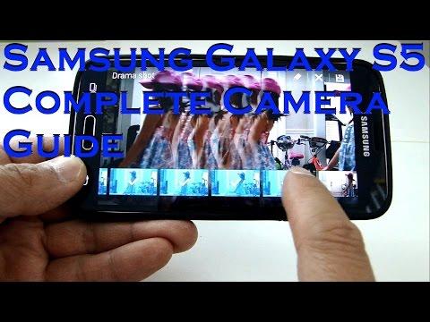 FULL TUTORIAL GUIDE ON SAMSUNG GALAXY S5 CAMERA