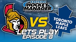 Episode 8 - The Battle | Eastside Hockey Manager:Early Access 2015 Lets Play
