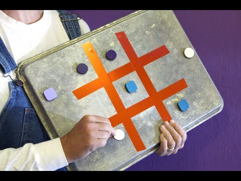 Sophie's World: Backseat Tic-Tac-Toe