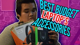 BEST BUDGET LAPTOP ACCESSORIES (BAHASA MELAYU) REVIEW + UNBOXING