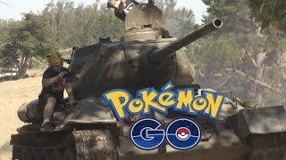 Taking Pokemon Go Too Far