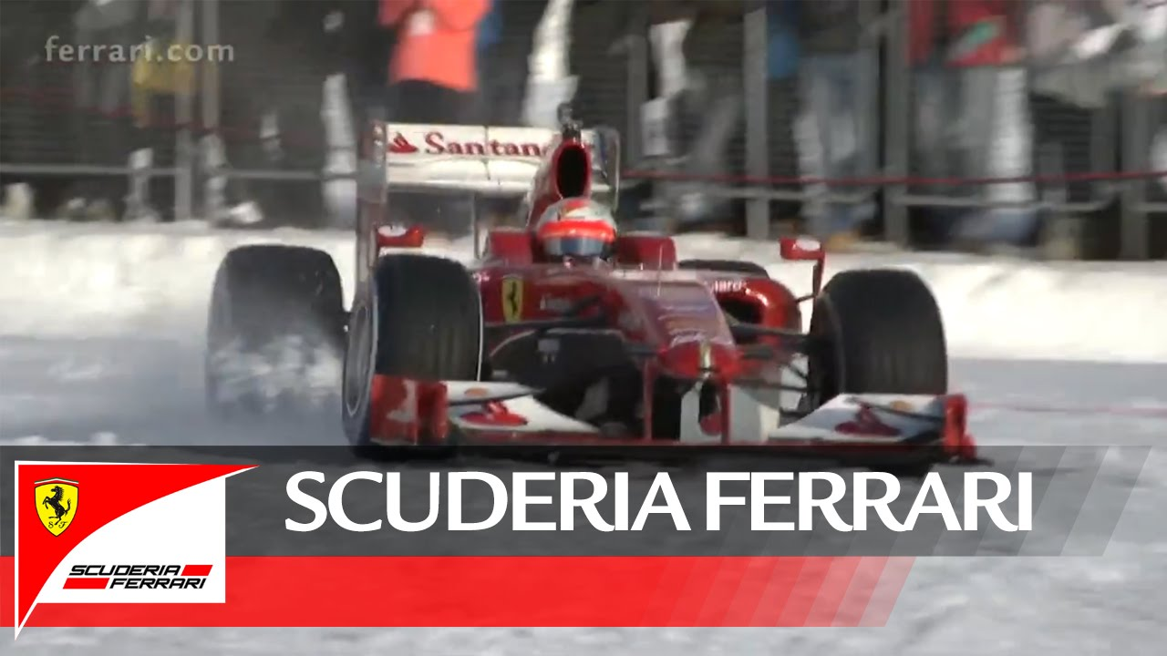 Havon száguldott a Forma 1-es Ferrari - videó