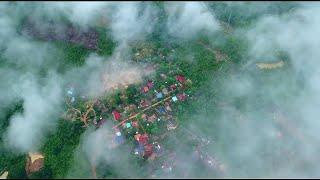 Ncig teb chaws saib zos Hmoob thaj Kos hais ທ່າກົກໄຮ toj siab chaw nco drone Laos Dji Mavic Pro