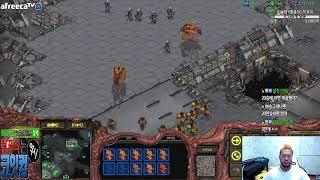 스타1 StarCraft Remastered 1:1 (FPVOD) Larva 임홍규 (Z) vs Moo.Sapa (P) Circuit Breakers 써킷브레이커