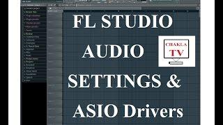 FL STUDIO - Audio Settings ( ASIO Drivers, Buffer Length & Sample Rate ) - Tutorial - Bangla/Bengali
