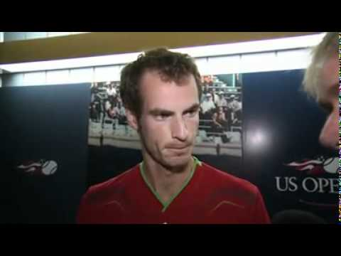 Andy Murray, Colin Flemming and Ross Hutchins interview at the US Open