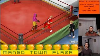 Justin Bieber vs Tyler the Creator - Fire Pro Wrestling World Ep. 30
