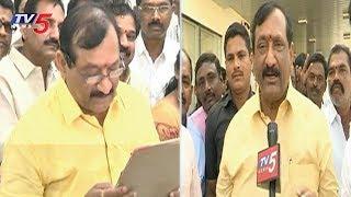 KE Prabhakar Takes Charge as Kurnool MLC