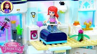 Custom Bedroom & Pool for Ariel's Modern Apartment 🏡 Lego Building Tutorial
