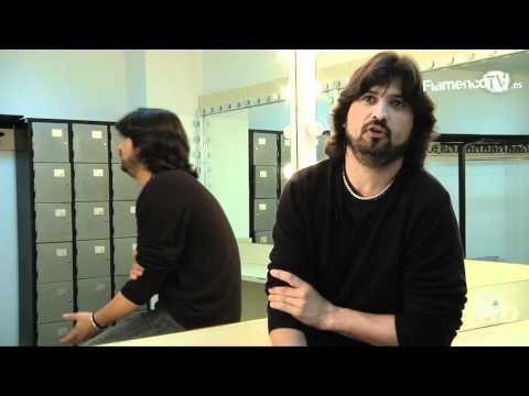 Entrevista a Chicuelo en los camerinos del Teatro Central
