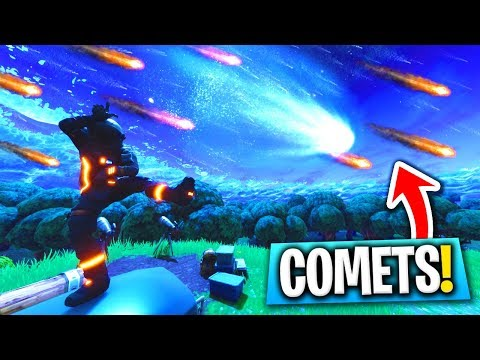 How To ACTIVATE COMETS Every Time In Fortnite! (Tilted Towers Meteor Theory)