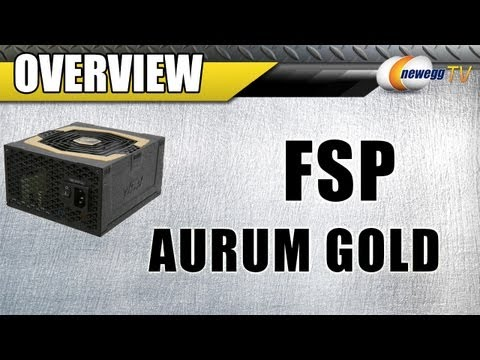 Newegg TV: FSP Aurum Gold CM Series Modular 650W & 750W Power Supplies