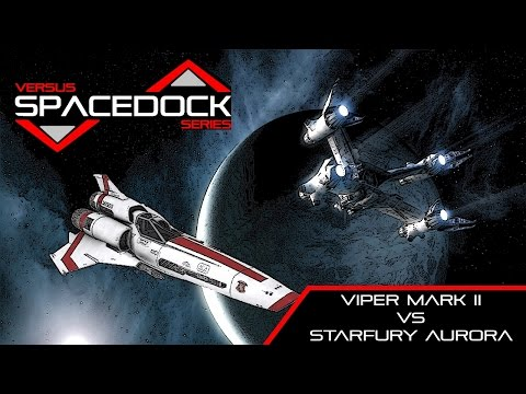 Colonial Viper vs Earthforce Starfury (Battlestar/Babylon 5) - Spacedock Versus Short