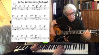 Gee Baby, Ain't I Good To You - guitar & piano jazz cover - Yvan Jacques