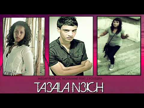 Mc Noumane & J.Youssra Feat Insaf - Ta3ala N3ish - YouTube.flv