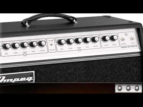 Ampeg GVT Tube Guitar Amplifiers - Straight Up Tone