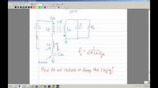 Analysis and Design of a Flyback; Part 4, How to Model the Transformer and Simulate it