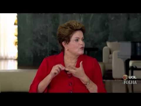 Sabatina Folha UOL: Entrevista de Dilma Rousseff (integra)