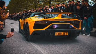 SUPERCARS GOES CRAZY [4K] | Cars & Coffee ITALY 2019 HIGHLIGHTS | Brescia - Italy