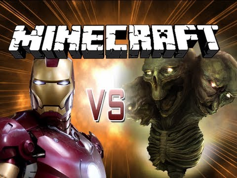 Minecraft Battle - Iron Man VS THE WITHER!!