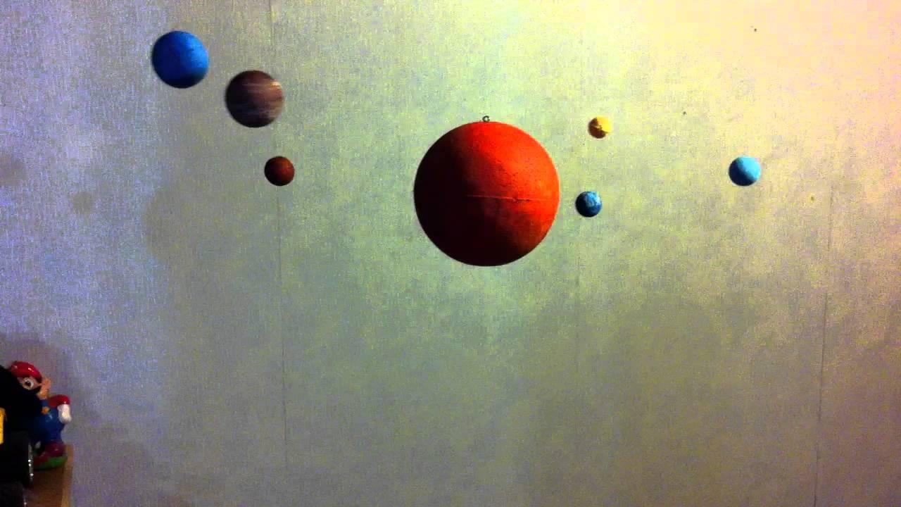 Construye Un Sistema Solar Movimiento Youtube
