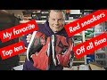 TOP TEN RED SNEAKERS OFF ALL TIME