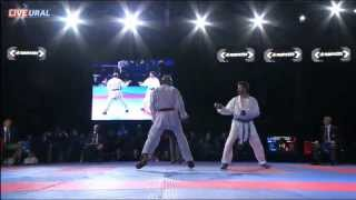 Hany Shaker Keshta (EGY) - Michail Georgios Tzanos (GRE) Final Karate1 Premier League, Tyumen 2013