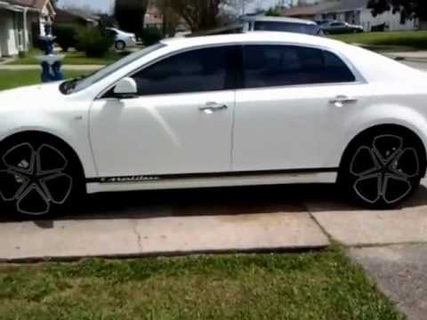 2008 Malibu Ltz On 22s Youtube