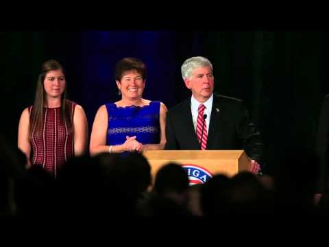 Rick Snyder's victory speech after winning re-election