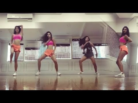 Disha Patani Dance Practice With Dimple Ganguly