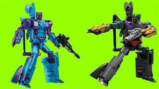 Transformers Combiner Wars Decepticon Vortex vs Autobot Smokescreen Robots that Combine
