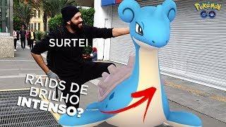 O BRILHO DAS RAIDS,  NO LAPRAS DAY - POKÉMON GO 193
