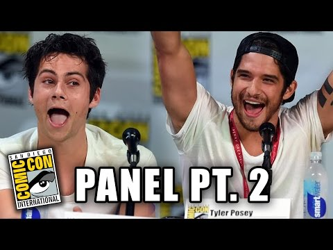 Teen Wolf Comic-Con 2014 Panel Part 2 (Dylan O'Brien, Tyler Hoechlin, Tyler Posey)