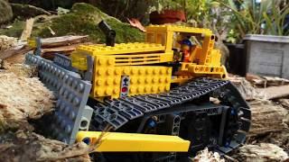 /!  [MOC] Lego Technic Bulldozer With BuWizz - Very Fast