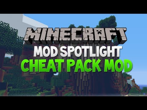 Minecraft Mod Spotlight - Cheat Pack Mod