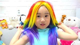 보람이의 공주 선글라스 장난감 놀이 Boram Princess Sunglasses Toys