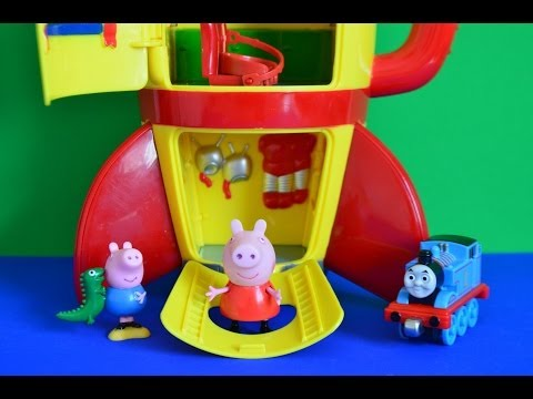 New Peppa Pig Full Episode Thomas And Friends George pig Full Story Peppa Pig Toys COOL
