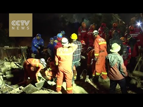 4 dead after a landslide hit Lishui, China