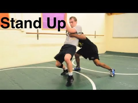 Stand Up Escape: Basic Bottom Wrestling Moves and Technique For Beginners Image 1