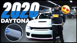 TAKING DELIVERY OF 2020 DAYTONA HELLCAT